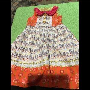 Girls dress by jelly the pug size 4